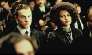 Samuel West and Helena Bonham Carter in Howards End.