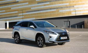Electric avenue: the big Lexus has room for seven passengers – as well as three engines…