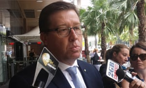 Justice minister Troy Grant