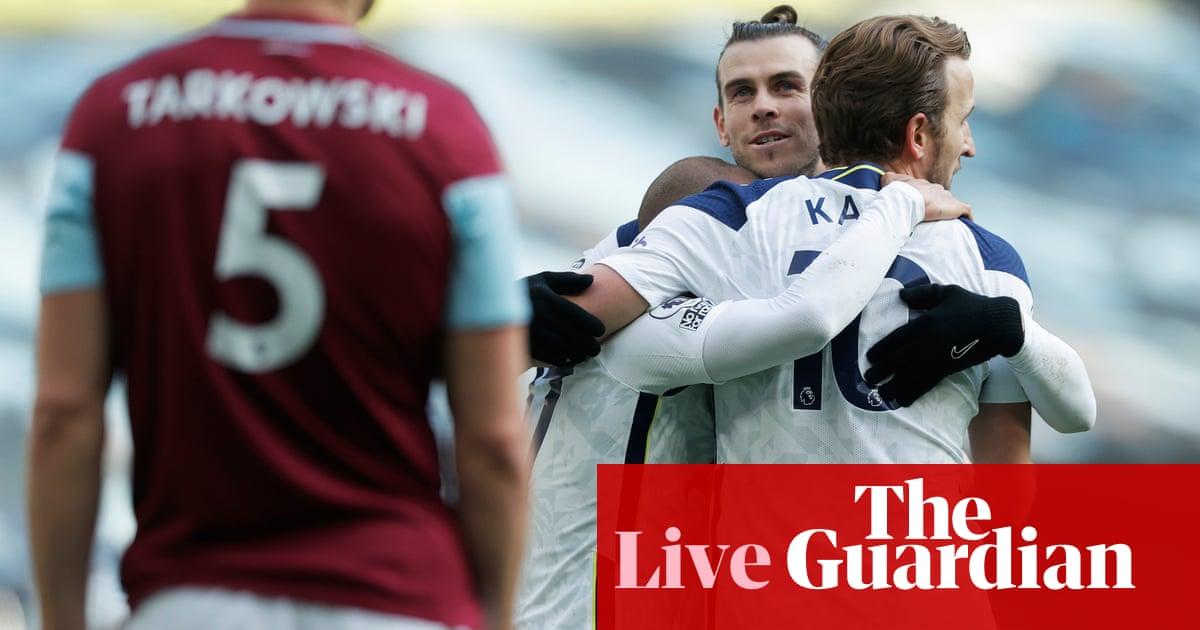 Tottenham 4-0 Burnley: Premier League – as it happened