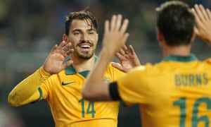 James Troisi was a key figure in the Socceroos' successful Asian Cup campaign earlier this year, scoring the winner in the final.