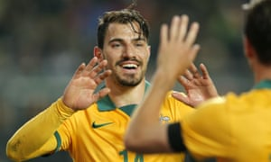 Socceroo James Troisi has joined the growing ranks of Australian players in China by signing for big-spending Liaoning Whowin