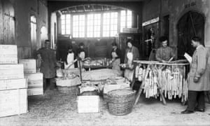 Traditional Parma ham makers