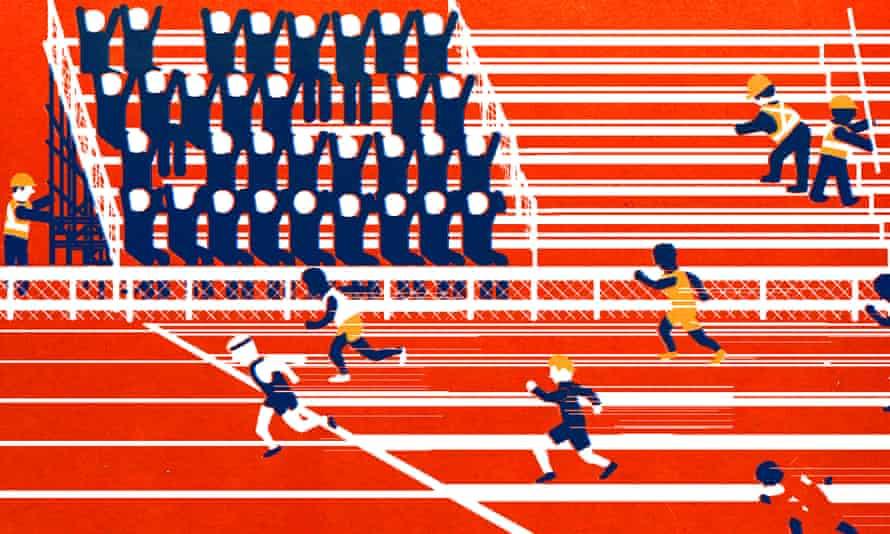 Athletics is still struggling to break America.