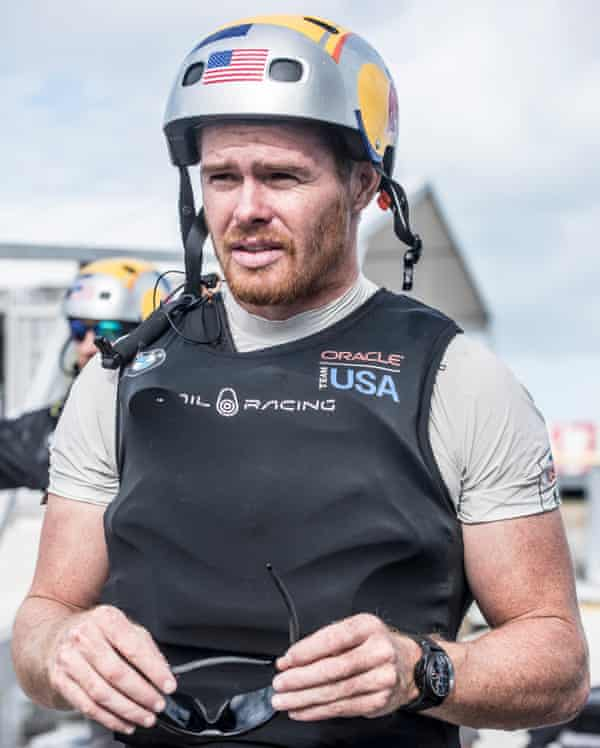 Tom Slingsby, Sydney sailing graduate and the Oracle Team's tactician.
