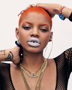 Slick Woods: from homeless teen to rebel style setter – the model
