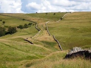 """Stone walls near Smardale – now part of the Yorkshire Dales""""To me this is a typical dales view."""""""