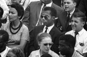 James Baldwin, centre, from I Am Not Your Negro