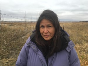 Cheryl Angel: 'There isn't much land left between the water and the equipment.'