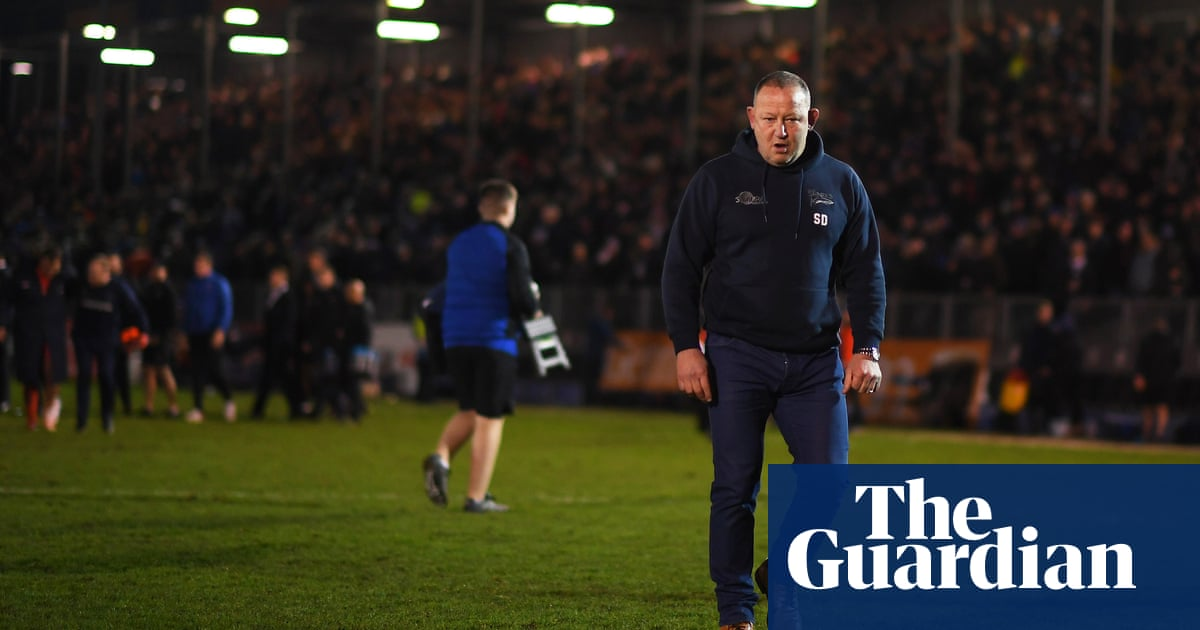 Sale rugby director Steve Diamond makes shock exit for personal reasons
