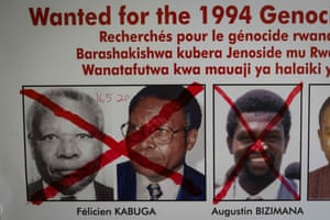 Felicien Kabuga on wanted poster