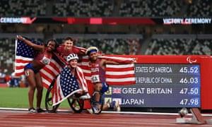 The USA team.