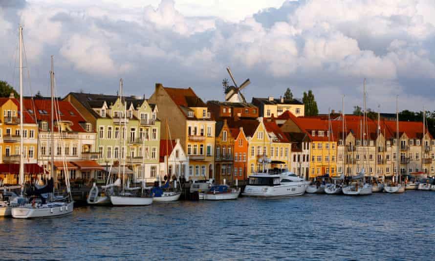 The port of Sonderborg