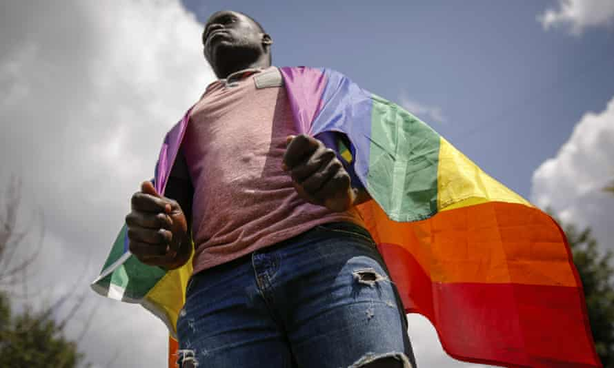Ugandan gay refugee Martin Okello faced discrimination and violence that forced him to flee his home country.