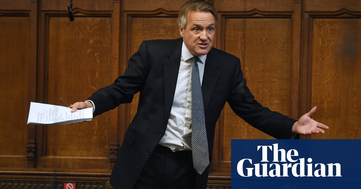 Pint of milk protest: Charles Walker's surreal Commons speech – video