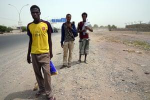Ahmed Muhammed, 20, Muhammed Ibrahim, 15, and Ibrahim Sultan, 25