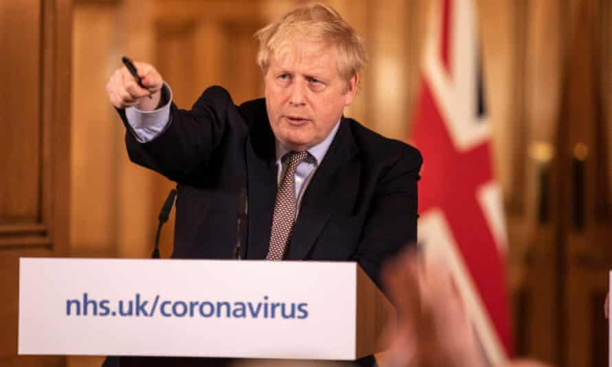 Boris Johnson announces new measures to tackle coronavirus in the UK, London, 16 March 2020