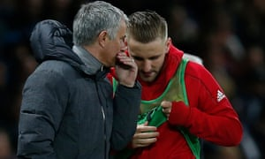 Jose Mourinho and Luke Shaw's improved relationship has been a rare positive at Old Trafford this season