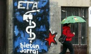 eta logo on wall