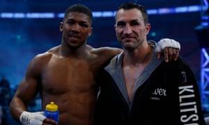 Wladimir Klitschko and Anthony Joshua
