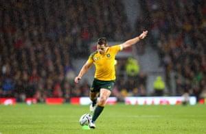 Foley kicks the winning penalty.