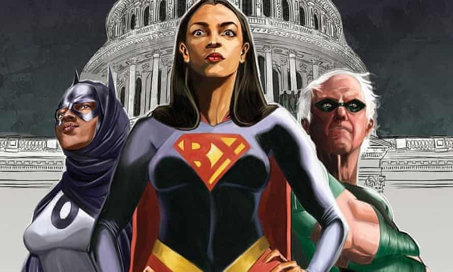 detao; from the Alexandria Ocasio-Cortez and the Freedom Force Cease & DCist edition.