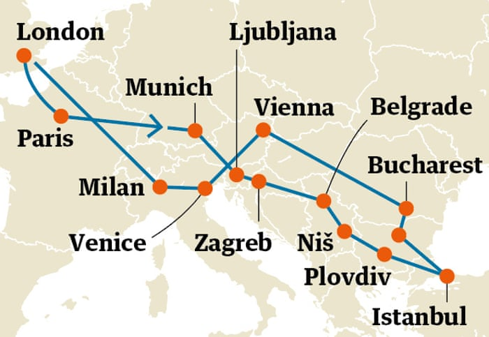 Five Great Interrail Itineraries Across Europe Travel The Guardian