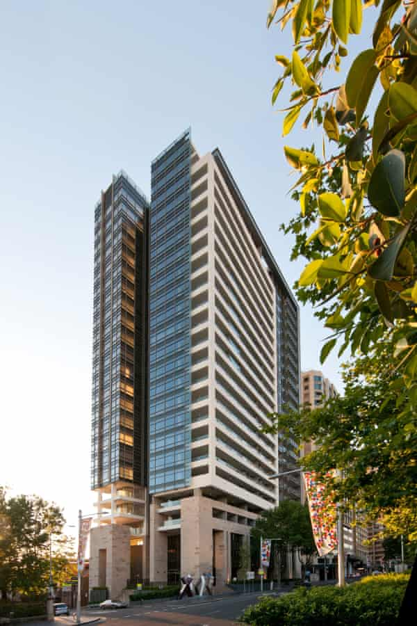 The Residence apartment tower in Sydney