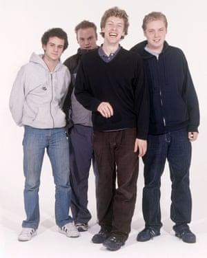 Coldplay's voluminous brown cords phase circa 1999.