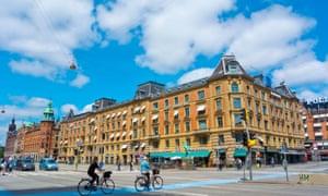HC Andersens boulevard in Copenhagen.