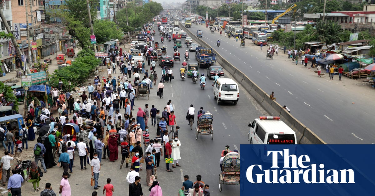 Bangladesh troops to enforce lockdown as Covid death toll hits record high