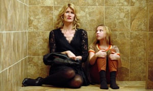 Best actress in a limited series or TV movie nominee Laura Dern, with Isabelle Nélisse in The Tale.
