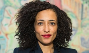 'The voice of a generation' … Zadie Smith.