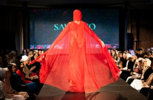 Kadijeh Fatrouni wearing Sawa+Co Couture