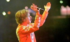 Beck en Brasil 2001