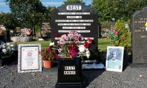 Grave of Football Legend George Best