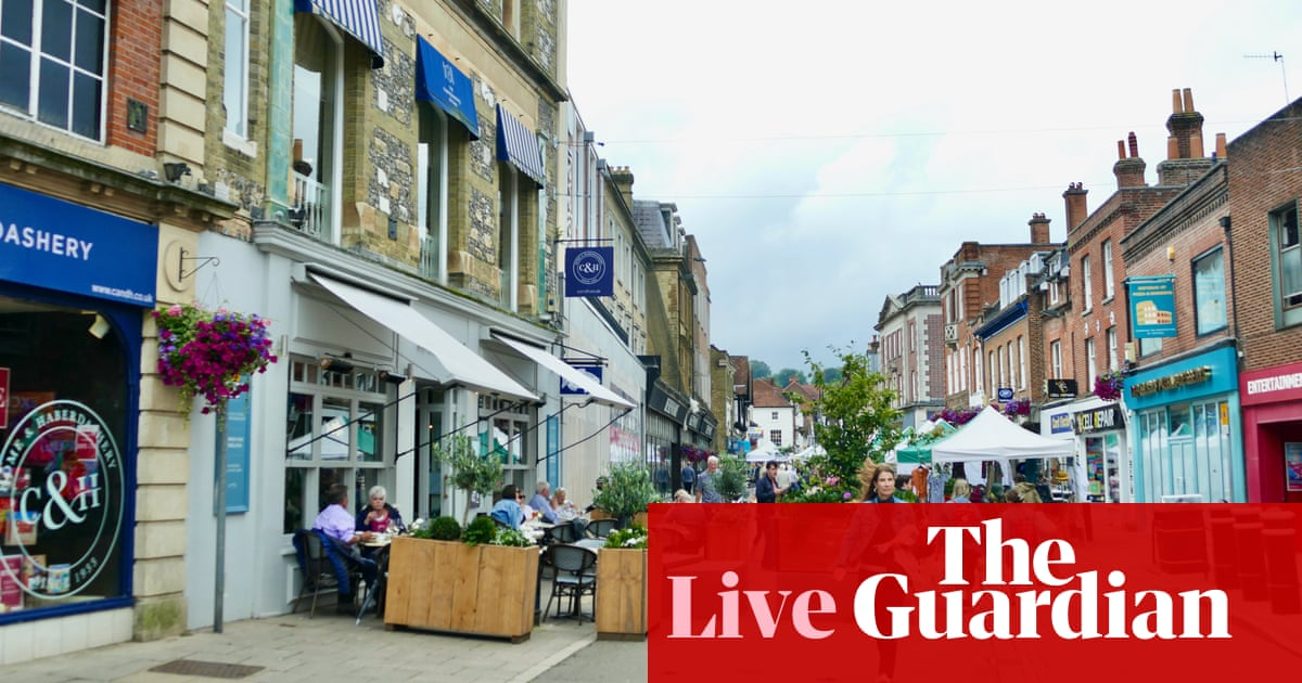 UK recovery 'running out of steam' as retail sales fall again – business live