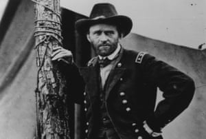 Audacious film-making … Union army general Ulysses S Grant in The Civil War.