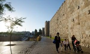 Israel wall Jaffa Safran Foer