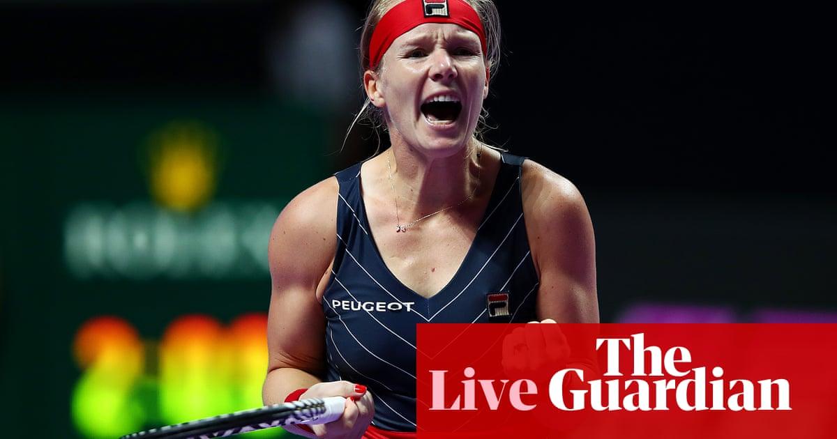 Kiki Bertens shocks Ashleigh Barty at WTA Finals – as it happened