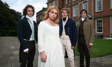 La adaptación de 2007 para ITV de Mansfield Park con Billie Piper como Fanny.