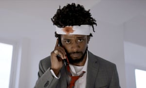 Lakeith Stanfield as Cassius Green in Boots Riley's Sorry to Bother You