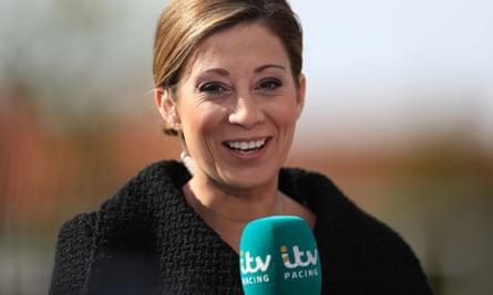 Hayley Turner, who is part of the ITV Racing team, has been suspended for three months after breaking betting rules.
