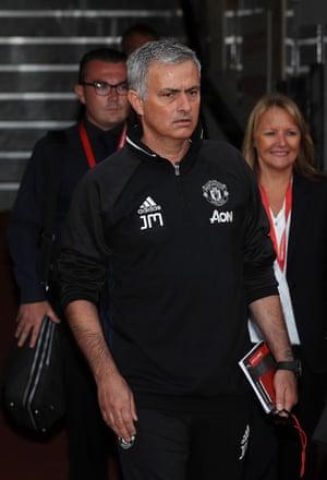 José Mourinho has arrived.