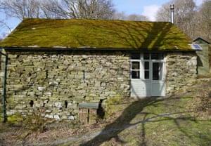off-grid, 16th century farmhouse': Dodgson Wood, Cumbria.