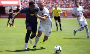 Anthony Martial featured in pre-season for Manchester United on their tour of the US last month.