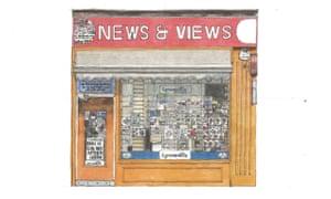 News & Views, Byres Road, Glasgow