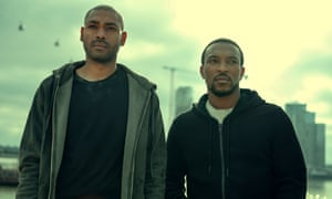 Kane Walters and Ashley Robinson in the new series of Top Boy.