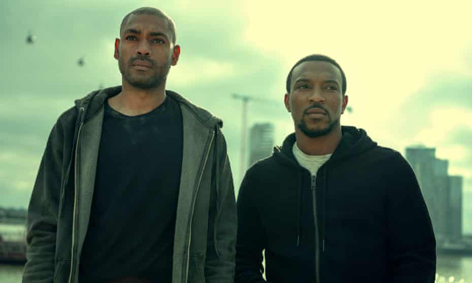 Kane Robinson and Ashley Walters in Top Boy