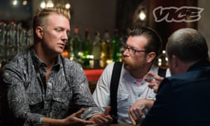 Josh Homme and Jesse Hughes of the Eagles of Death Metal interviewed by Vice founder Shane Smith.